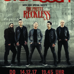 Stone Sour - Samsung Hall Zürich 2017 (Flyer)