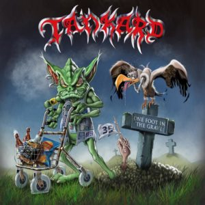 TANKARD – One Foot In The Grave (CD Cover Artwork)