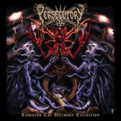 PERSECUTORY – Towards The Ultimate Extinction (CD Cover Artwork)