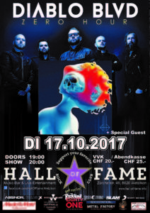 Diabolo Blvd. - Hall of Fame 2017 (E-Flyer)