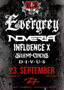 Eleven Rock - Evergrey - Z7 Pratteln 2017 (Flyer)