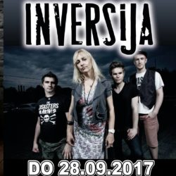 Inversija - Hall of Fame - 28.9. 2017 (Flyer)