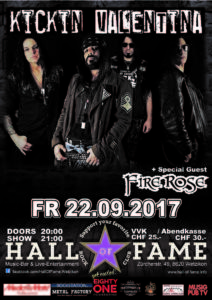 Kickin Valentina - Hall of Fame 2017 (E-Flyer)