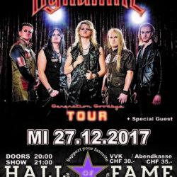 Kissen Dynamite - Halls of Fame 2017 (E-Flyer)