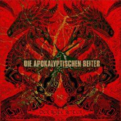 Die Apokalyptischen Reiter - Der Rote Reiter (CD Cover Artwork)