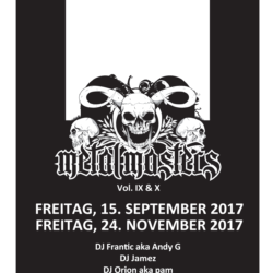 Metal Masters Vol. IX & X 2017 (Flyer)