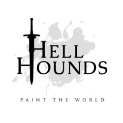 Hell Hounds - Paint The World (CD Cover Artwork)