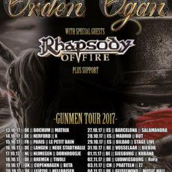 Orden Ogan - Tour 2017 - Z7 Pratteln 2017