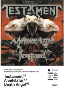 Testament - FriSon 2017 (Flyer)