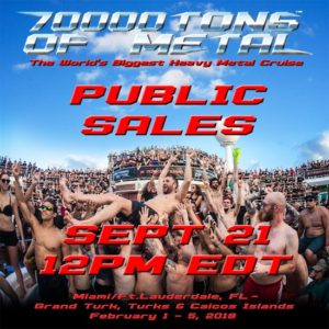 70'000 Tons of Metal - Public Sales 2017