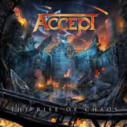 ACCEPT – The Rise Of Chaos (CD Cover Artwork)