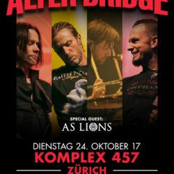 Alter Bridge - Komplex 457 Zürich 2017 (Poster)