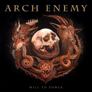 Arch Enemy - Will To Power (CD Cover Artwork)