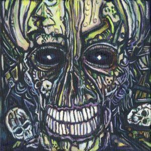COLTSBLOOD – Ascending Into Shimmering Darkness (CD Cover Artwork)