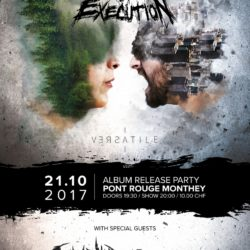 Circle Of Execution - Pont Rouge Monthey 2017 (Flyer)