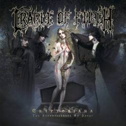 Cradle Of Filth - Cryptoriana - The Seductiveness Of Decay (CD Cover Artwork)