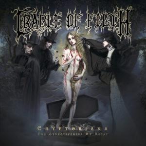 Cradle Of Filth - Cryptoriana - The Seductiveness Of Decay (CD Cover Artwork)
