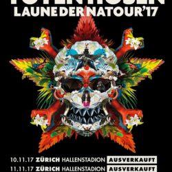 Die Toten Hosen - Natour 2017 CH (Flyer)