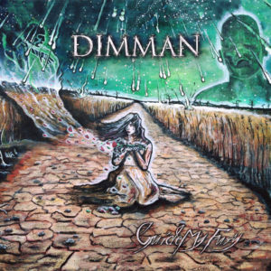 Dimman – Guide My Fury (CD Cover Artwork)