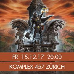 HammerFall - Komplex 457 Zürich 2017 (Poster)