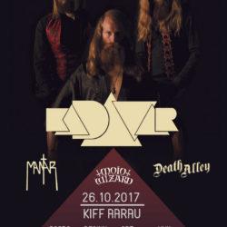 Kadavar - KiFF Aarau 2017 (Flyer)