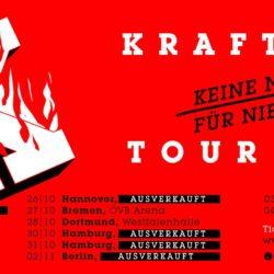 Kraftklub - Keine Nacht für niemand - 2017 (Tour)