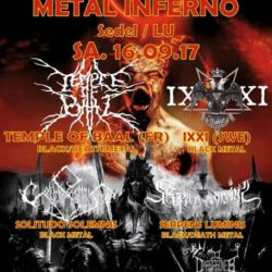 Solitudo Solemnis - Metal Inferno - Sedel 2017