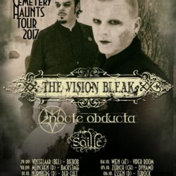 The Vision Bleak - Tour 2017 (Flyer)