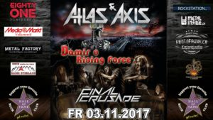 Atlas & Axis - Hall of Fame 2017 (Flyer)
