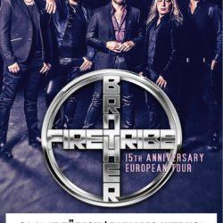 Brother Firetribe - Werk21 Zürich 2017 (Flyer)