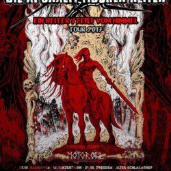 Die Apokalyptischen Reiter - Tour 2017 (Plakat)