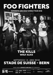 Foo Fighters - Stade de Suisse 2018 (Flyer)