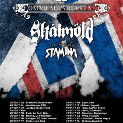 Omnium Gatherum - Tour 2017 - Flyer