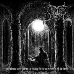 ANIMA DAMNATA – Nefarious Seed Grows To Bring Forth Supremacy Of The Beast (CD Cover Artwork)