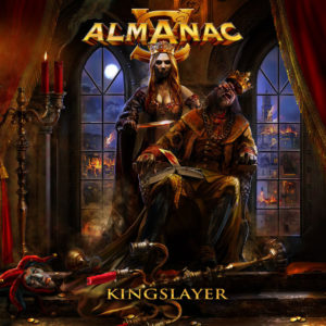 Almanac - Kingslayer (CD Cover Artwork)