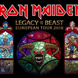 Iron Maiden - Legacy of the Beast European Tour