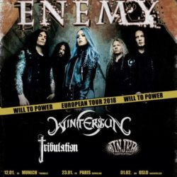 Arch Enemy - European Tour 2018