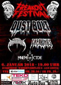 Freakout Festival Vol. 1 - Liestal 2017