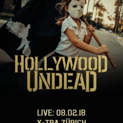 Hollywood Undead - X-Tra Zürich 2018 (Flyer)