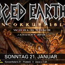 Iced Earth - Z7 Pratteln 2018