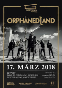 Orphaned Land - Galvanik Zug 2018