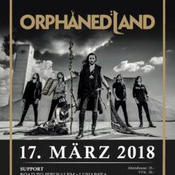 Orphaned Land - Galvanik Zug 2018