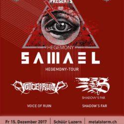 Samael - Schüür Luzern 2017