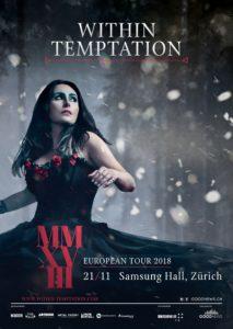 Within Temptation - Samsung Hall 2018