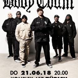 Body Count - Komplex 457 Zürich 2018 (Plakat)