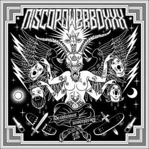 DISCOPOWERBOXXX – Deadlicious (CD Cover Artwork)