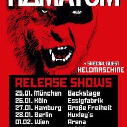 Hämatom - Schüür Luzern 2018 (Flyer)