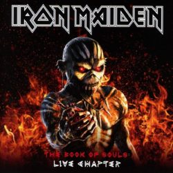 Iron Maiden - The Book Of Souls Live Chapter (CD Cover Artwork)