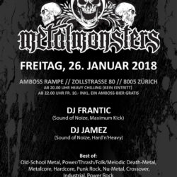 Metal Monsters XI - Amboss Rampe Zürich 2018