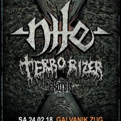 Nile - Galvanik Zug 2018 (Flyer)